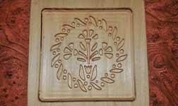 Mézeskalács forma fából faragva